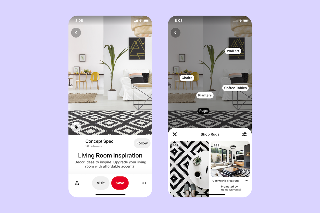 Pinterest announces new global shopping and ad features ahead of ...