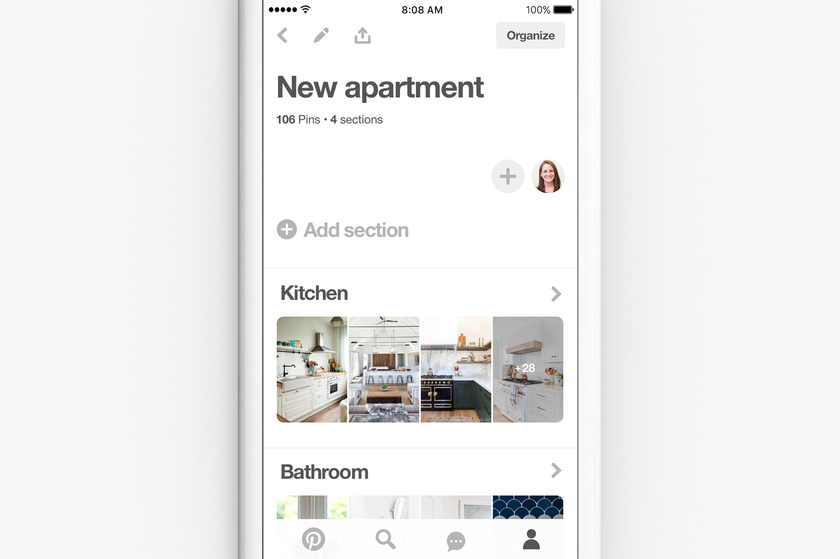 A new way to organize your ideas on Pinterest   Pinterest Newsroom