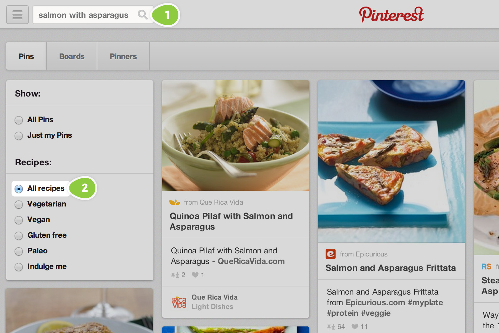 More ways to search for recipes   Pinterest Newsroom