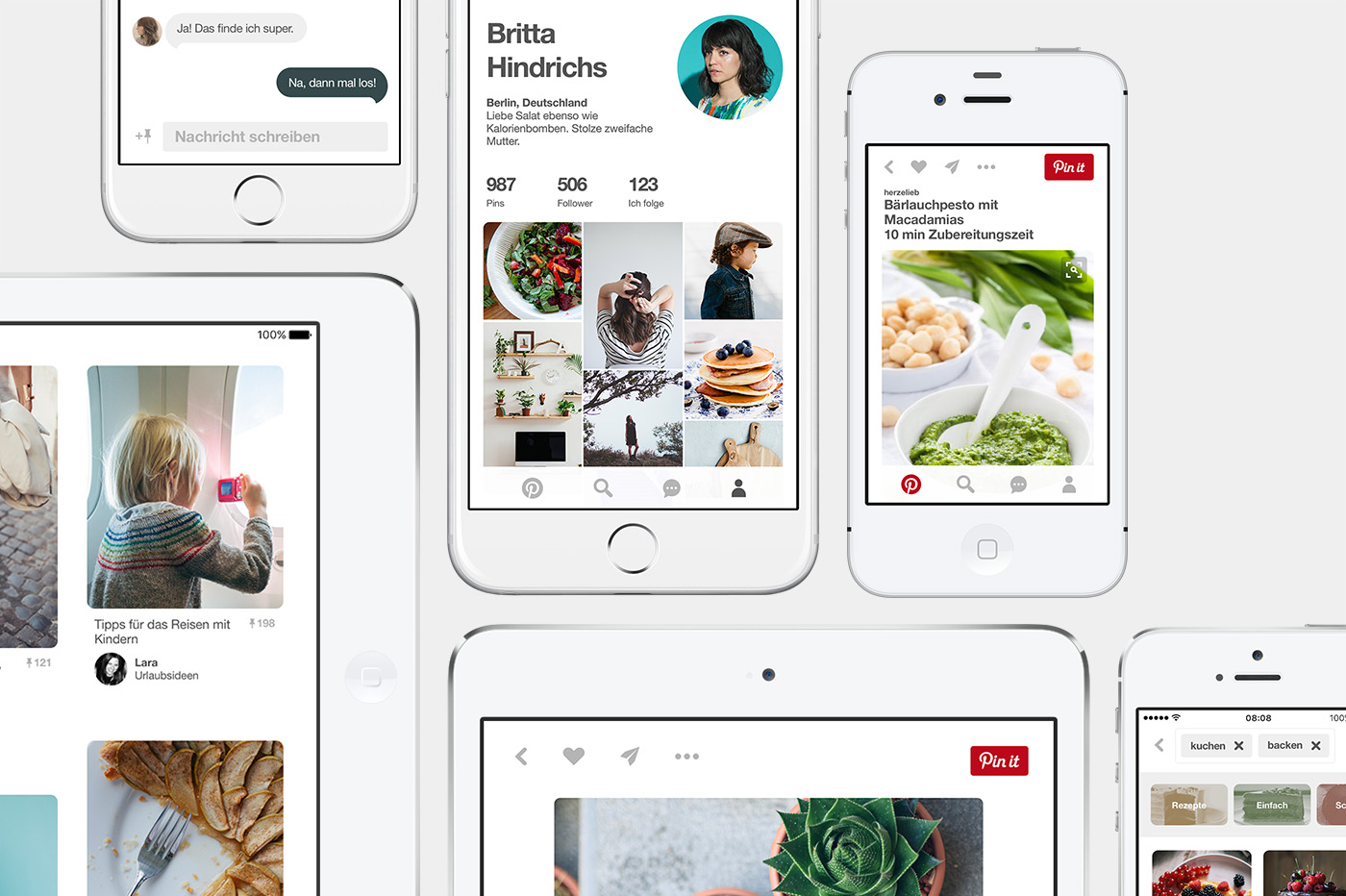 Pinterest App und Webseite jetzt schneller und übersichtlicher ...