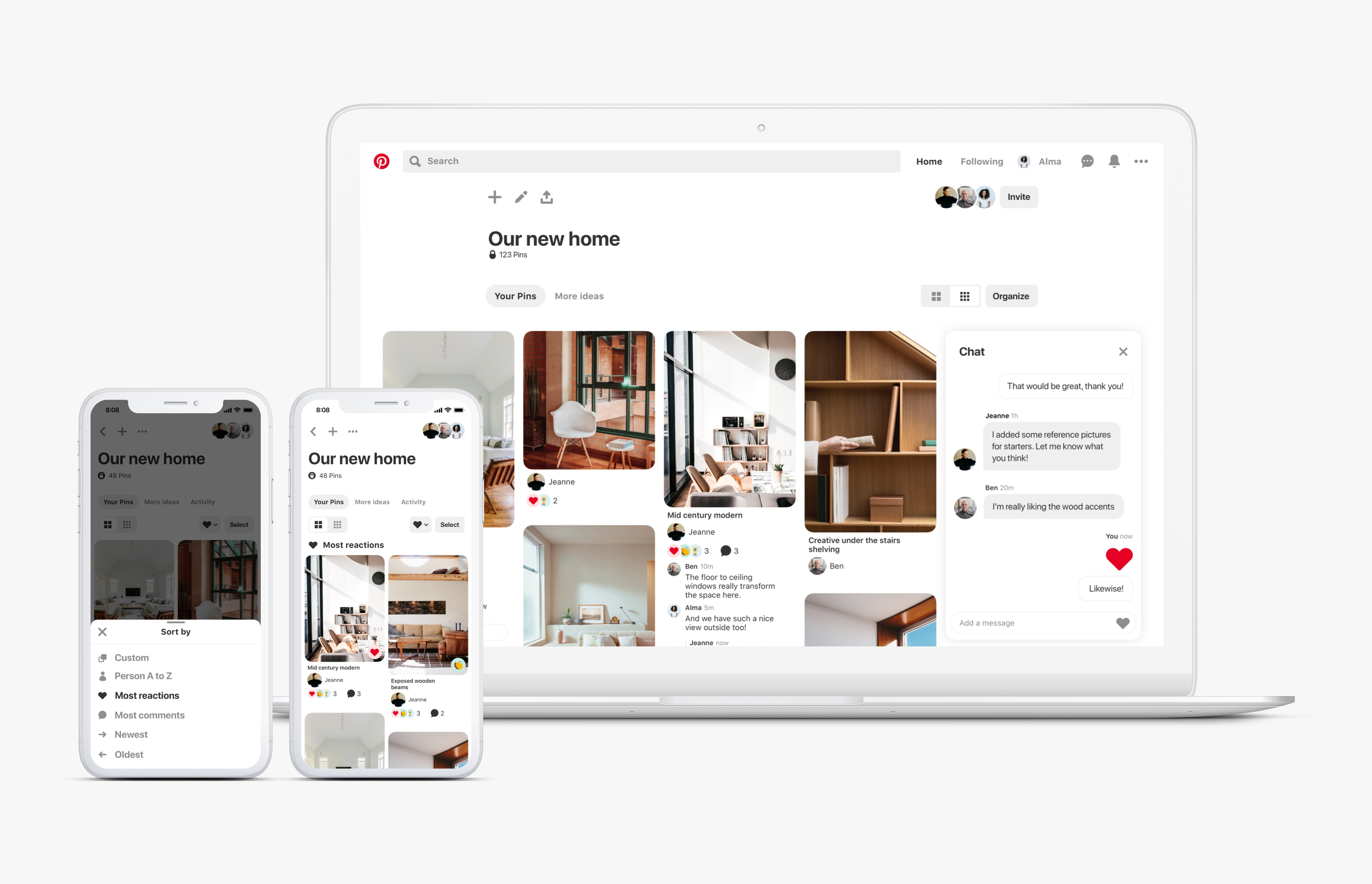 New Group Board features for more collaborating   Pinterest Newsroom