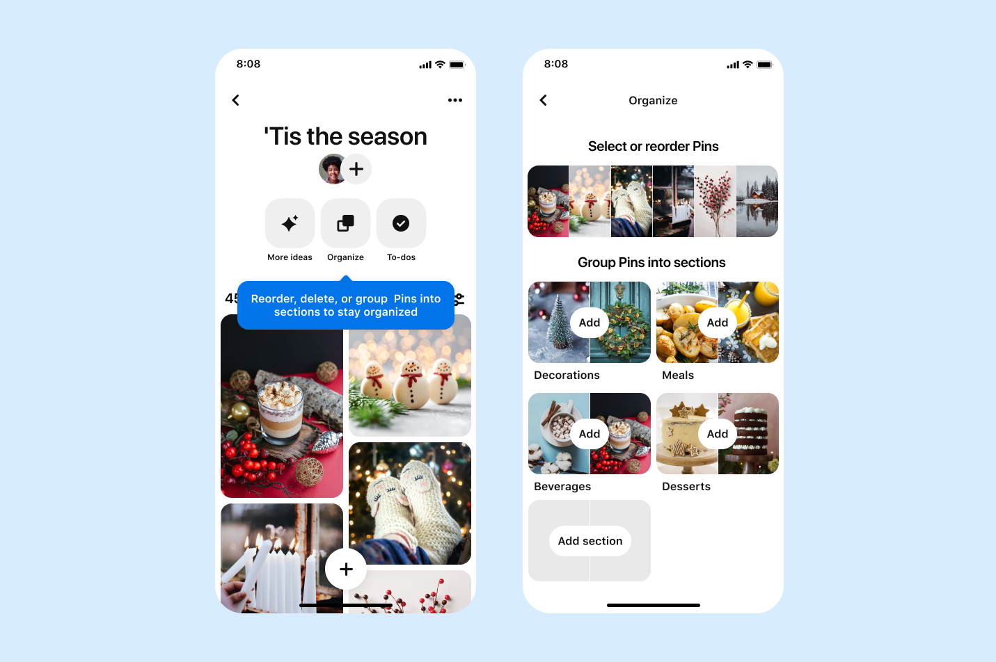 Pinterest launches new board features including notes to self on Pins, board favorites and a board toolbar