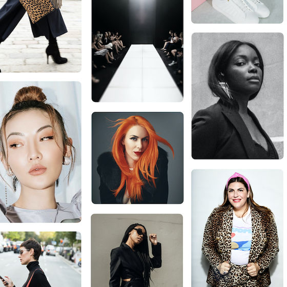 Get backstage access to New York Fashion Week on Pinterest